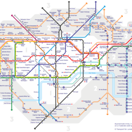 Tube map, Walk the Tube map