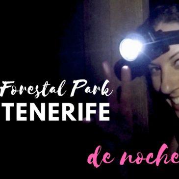 Forestal Park Tenerife – de noche