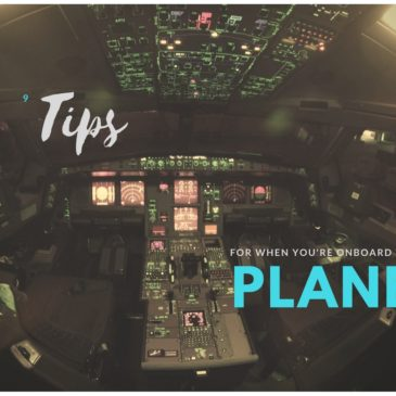 9 tips for when you're onboard the plane
