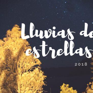Lluvias de estrellas 2018
