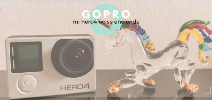 GoPro – mi hero4 no se enciende